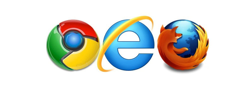 Chrome Explorer Firefox Home Page