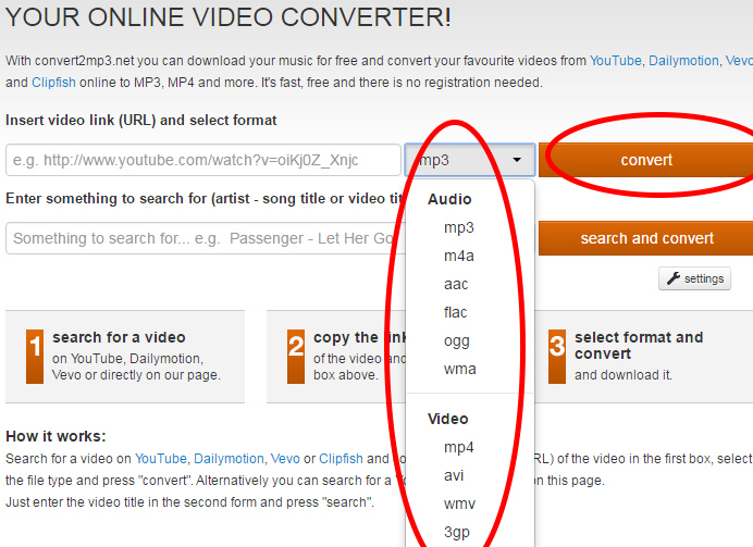 Youtube mp3, Scaricare musica da youtube