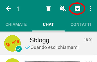 Backup e Ripristino Chat WhatsApp