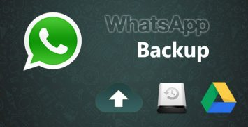 Backup delle chat di WhatsApp